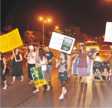 מוצאי שבת: עצרת מחאה ומאהל חדש