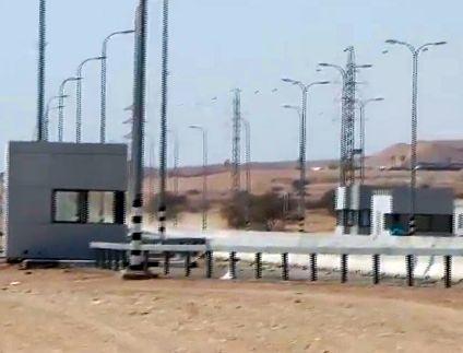 החלו העבודות להקמת מחסום הכניסה לעיר