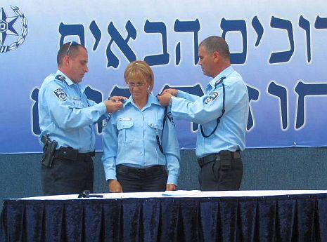 בריג'יט כהן קיבלה דרגת הצטיינות