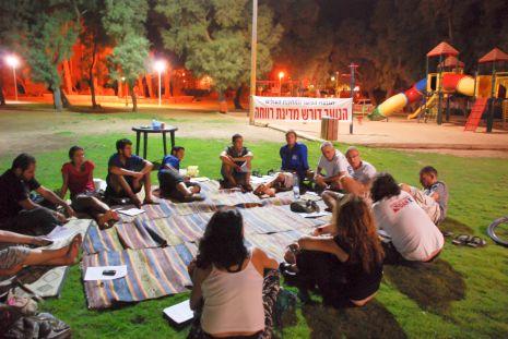 המחאה החברתית מצטרפת למאבק בחולות סמר