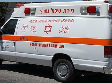 פצוע בינוני בתאונה ליד פארק שחמון