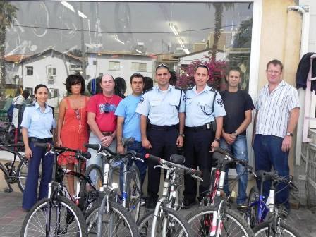 האופניים האבודים נתרמו למשפחות נזקקות