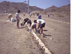 נחשף כפר ששימש עולי רגל מוסלמים