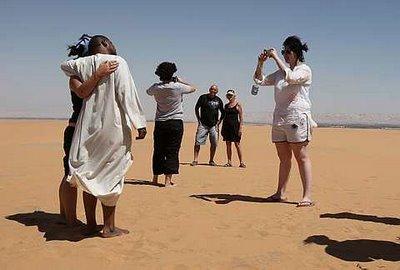 תיירים מרוסיה טיילו באזור שנסגר בידי צה''ל