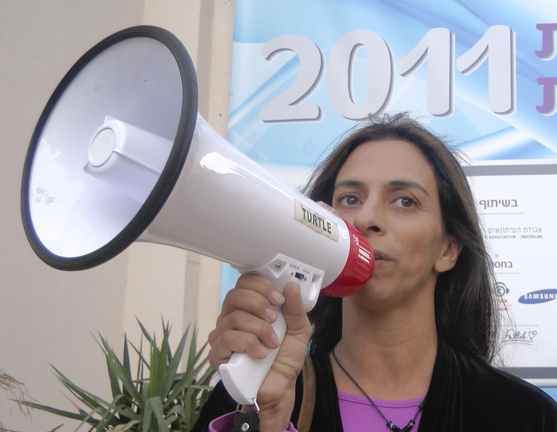 וידיאו: הפגנה נגד המסתננים ב'כנס  אילת לעיתונות'