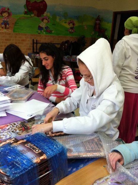 תלמידות האולפנא התנדבו בירושלים