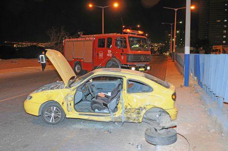וידיאו ותמונות: תאונת דרכים בכביש העוקף
