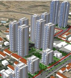 מועצת העיר תדון במגדלי המגורים המתוכננים בשכונת הדקל