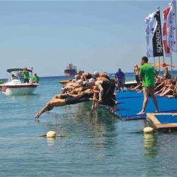 לראשונה במפרץ אילת-סבב גביע העולם בשחייה במים פתוחים