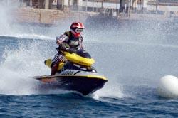 6,400 שקלים קנס למשיט אופנוע ים ללא רישיון