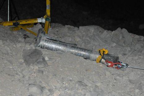 וידיאו ותמונות: טיל גראד התפוצץ צפונית לאילת