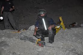 נמצאו שרידי אחד הטילים שנורו לאילת