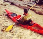 חתר בקיאק בנחל שלמה