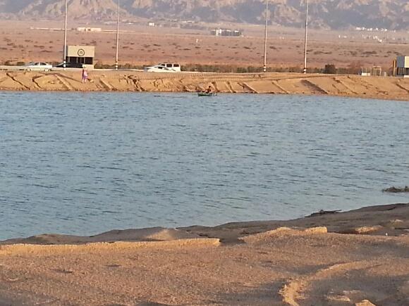 לאילת יש אגם חדש