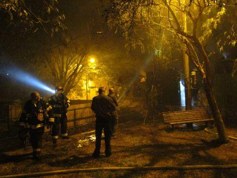 וידיאו ותמונות: שריפה בשכונת הדקל