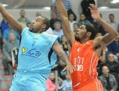כדורסל: אילת גברה על ראשון לציון