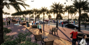 העירייה גברה על הסוחרים: 'אור ירוק' לשדרוג שדרות התמרים