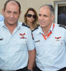 כבוד לכבאי אילת: סמי אוחנה מונה כקצין אג''ם