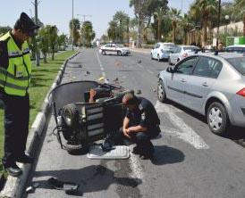 בעקבות התאונה הטראגית: מסע הסברה לנהגי הקלנועיות