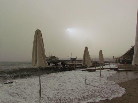 וידיאו ותמונות: הסופה שלפני פסח
