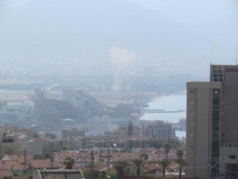 וידיאו ותמונות: טילים התפוצצו באילת