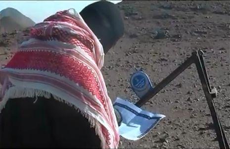 המחבלים תיעדו בוידאו את שיגור הטילים לעבר אילת
