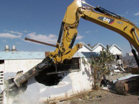 וידיאו: בניין המאפיה נהרס