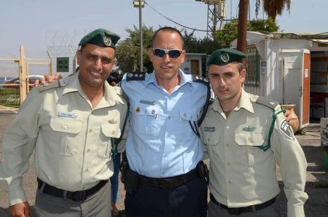 החלפת מפקדים בפלוגת משמר הגבול באילת