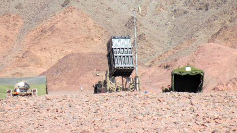 וידיאו ותמונות: 'כיפת ברזל' חזרה לאילת