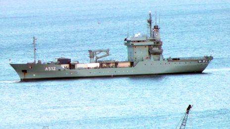 ספינת ברית נאט''ו הגיעה לאילת