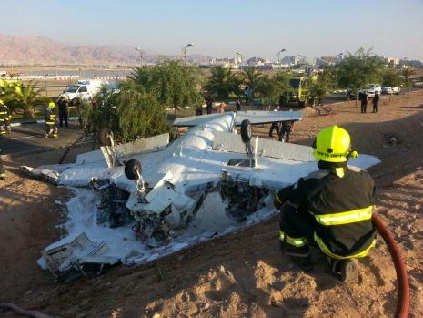 הרוג בהתרסקות מטוס קל ליד 'הביג'