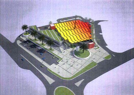כך ייראה המרכז המסחרי המתוכנן