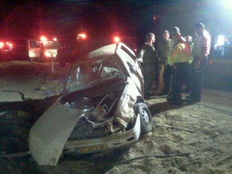 צעירה נהרגה בכביש הערבה