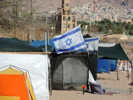 פסח באילת: כמו מחנות פליטים