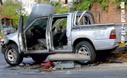 נפצע בפיצוץ מטען חבלה ברכב ולא יוכר כנפגע תאונת עבודה