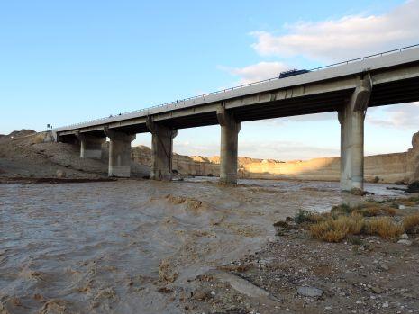 וידיאו ותמונות: שיטפונות שיבשו את הדרך לאילת