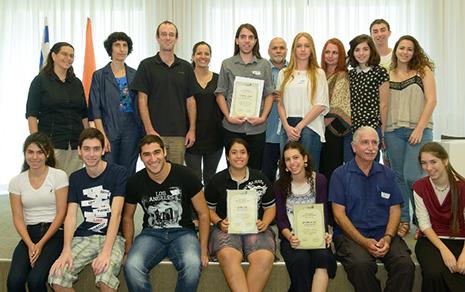 תלמידי מגמת הביולוגיה גורפים פרסים