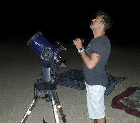'מה למעלה' -  מצפה הכוכבים של אילת  -  חוויה ייחודית שחבל להחמיץ
