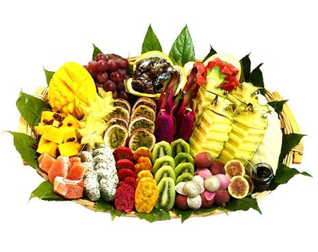 מגש פירות הוא פינוק אמיתי