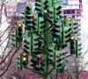 האם פסל 'עץ הרמזורים' הוא העתק בלתי חוקי?