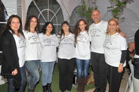 מתנדבים נרגשים זכו ב'אות המתנדב'