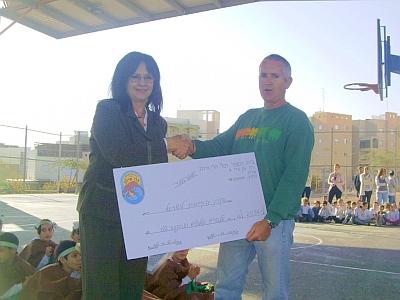 בית ספר 'תל''י הרי אילת' נרתם לטובת הכרמל