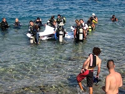 הרוג בתאונת צלילה בחוף אלמוג