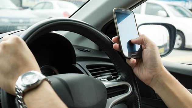 עליה של 4% בכמות הדוחות שחולקו באילת בגין שימוש בסלולארי בנהיגה בשנת 2018 בהשוואה ל-2017