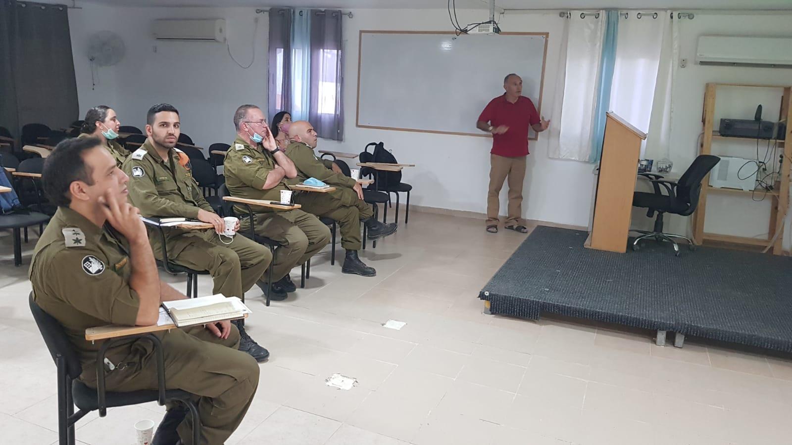 מפקד מחוז דרום וקציני נפת אדום ביקרו באילת
