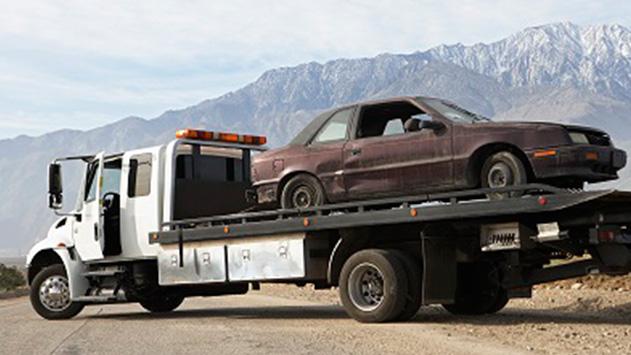 איך מורידים רכב מהכביש?