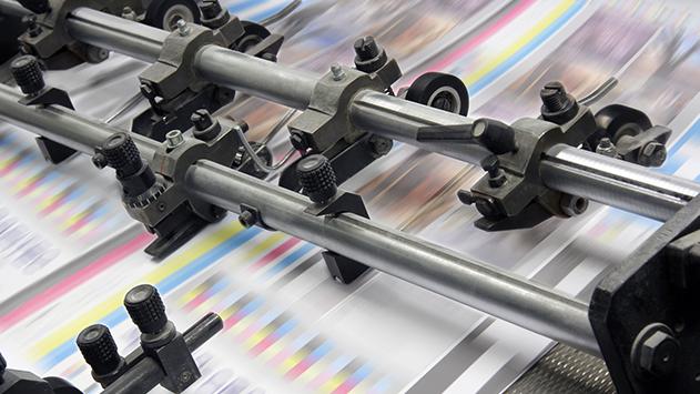 מטרות שונות של הדפסה על שמשונית