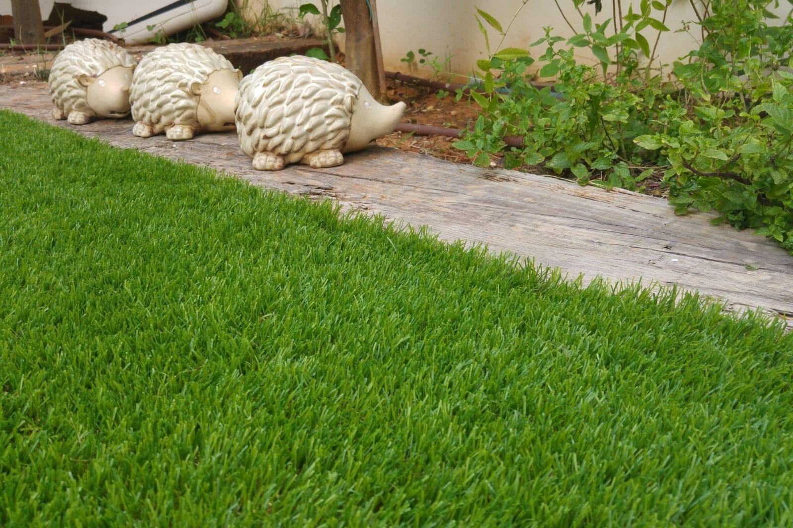 התקנת דשא סינטטי - בשיטת ''עשה זאת בעצמך'' DIY