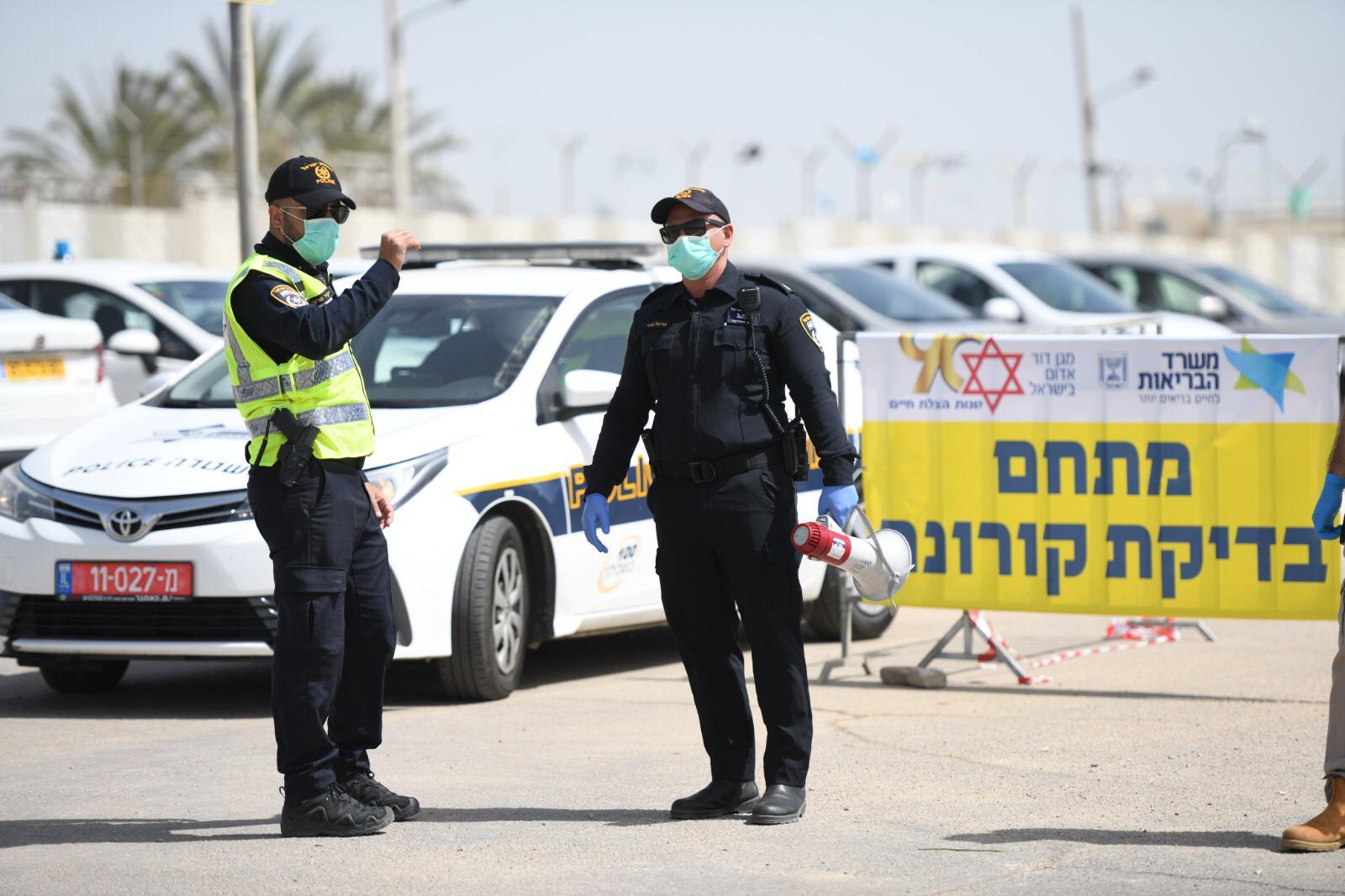 משטרת הקורונה מדווחת מהשטח
