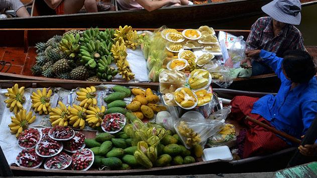 5 פסטיבלי אוכל בתאילנד
